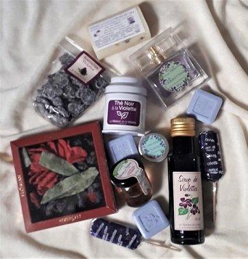 Produkty z fialiek