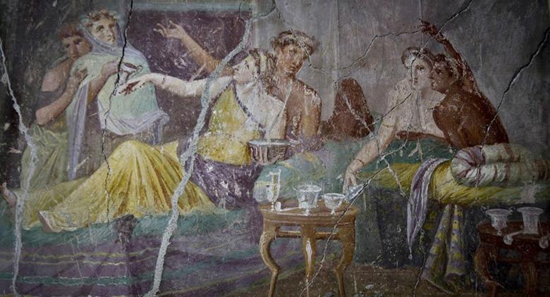 Casa dei casti amanti Pompei