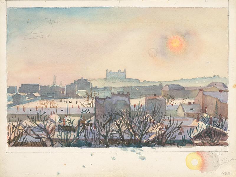 Bratislava in Winter