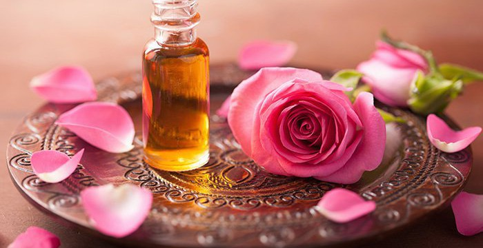 roses and rose oil