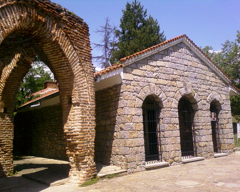 The tomb in Kazanlak